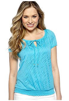New Directions Solid Burnout Top