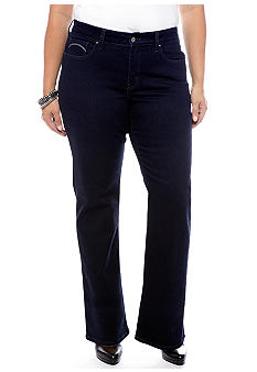 Levi's Plus Size 512 Boot Cut in Soulful Dark