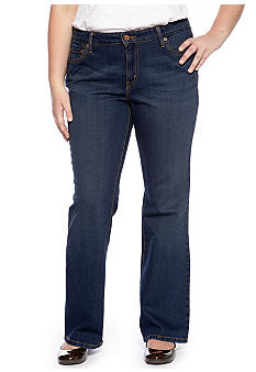 Levi's Plus Size 590 Boot Cut Jean in Denim Belief