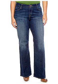 Levi's Plus Size 580 Boot Cut Jean in Winding Road