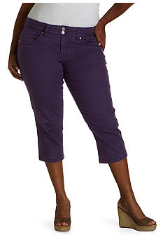 Levi's Plus Size 542 Denim Capri