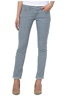 Levi's 524 Cuffed Skinny in Railroad Stripe