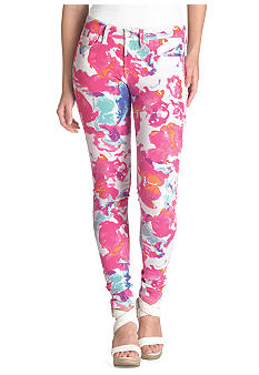 Levi's 535 Legging in Watercolor Floral