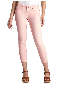 Levi's Cropped Notch Pocket Legging in Pink Shell