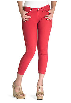 Levi's Cropped Notch Pocket Legging in Cupid
