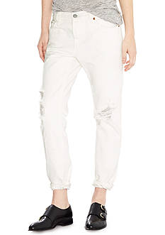 Levi's 501 CT White Tumble Jeans