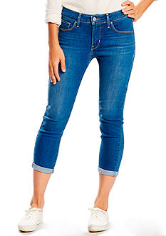 Levi's Mid Rise Skinny Crop Bright Pass Jeans