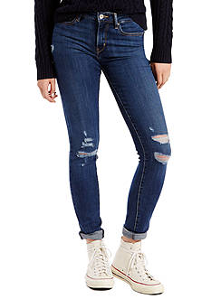 Levi's 711 Skinny Damage Done Jeans