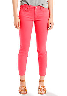 Levi's 711 Ankle Skinny Twill-Berry