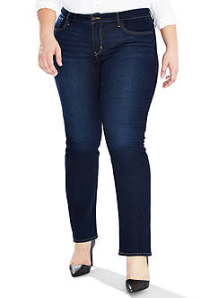 Levi's Plus Size 314 Shaping Straight Jean