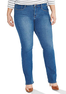 Levi's Plus Size 314 Shaping Straight Jeans