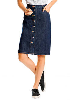 Levi's Button Down Pencil Skirt
