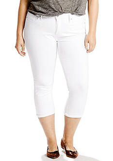 Levi's Plus Size Shaping Capri