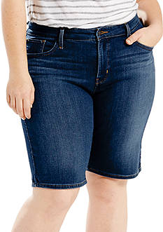 Levi's Plus Size Shaping Bermuda Shorts