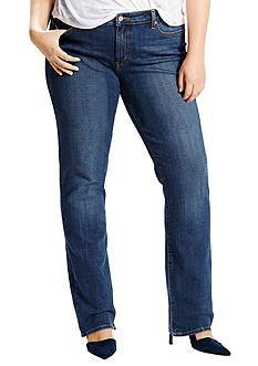 Levi's Plus Size 414 Relaxed Straight Jean