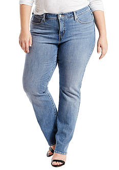 Levi's Pus Size 415 Relaxed Bootcut Fit Jean