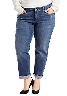 Levi's Plus Size Boyfriend Fit Newport Way Jeans