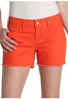 Levi's Cut Off Orange Short