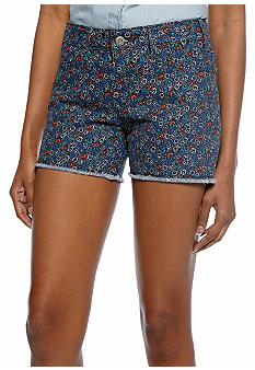 Levi's Cut Off Printed Short