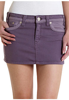 Levi's Color Block Mini Skirt