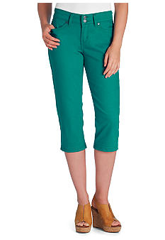 Levi's 529 Amazon Green Capri
