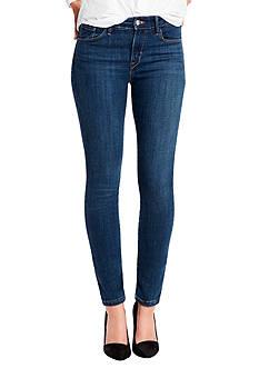 Levi's Mid Rise Skinny Indigo Devotion Jeans