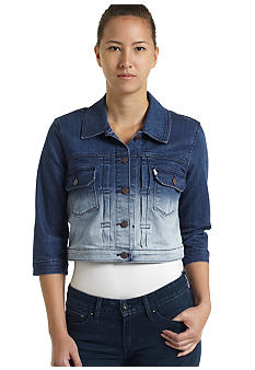 Levi's Crop Trucker jacket