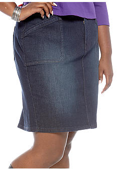 Levi's Plus Size 512 Perfectly Shaping Skirt