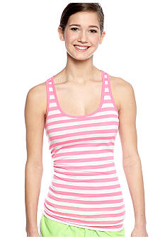 Derek Heart Stripe Racer Back Tank