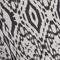 Derek Heart: Black/Grey Combo Derek Heart Printed Leggings