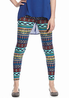 Derek Heart Printed Leggings