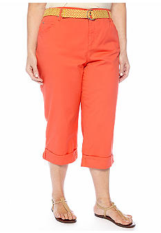 Bandolino Plus Size Color Mandie Capri