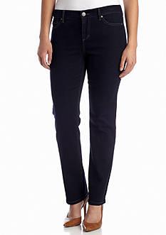 Bandolino Petite Mandie Perfect Fit Jean (Average & Short Inseams)