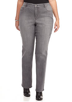 Plus Size Gray Jeans | Belk
