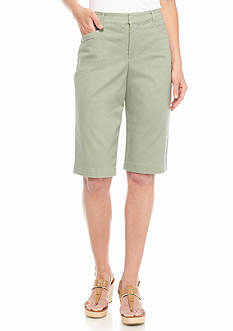 Bandolino Ivette Colored Bermuda Shorts