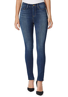 Bandolino Thea Fly Front Skinny Jeans