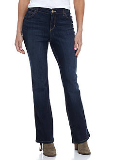 Bandolino Petite Size Mandie Barely Boot Jeans