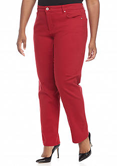 Bandolino Plus Size Mandie Average Perfect Fit Jeans