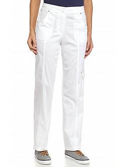 Kim Rogers Petite Knit Cargo Pants