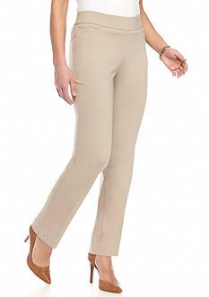 Briggs Petite Solid Pants - Short