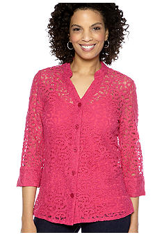 Kim Rogers Lace Big Shirt