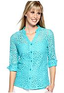 Kim Rogers® Lace Big Shirt