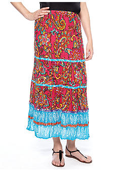 Coco Rave Printed 5-Tiered Skirt