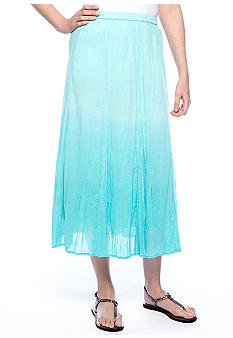 Choices Dip Dyed Ombre Skirt