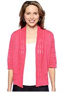 Choices Three Quarter Sleeve Shrug