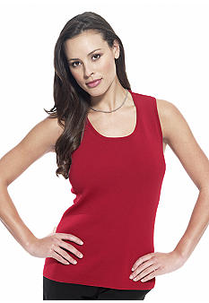 Choices Gift Wrap Sweater Tank