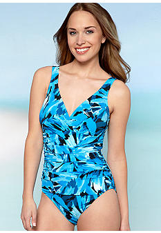 Miraclesuit One Piece Leaf Tank