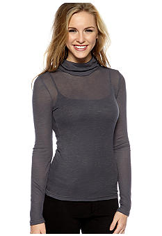 Grane Mock Neck Solid Top