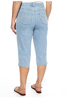 Kim Rogers Easy Fit Embellished Pocket Capri