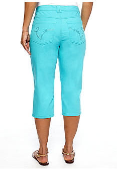Kim Rogers Every Day Value  Embellished Pocket Capri